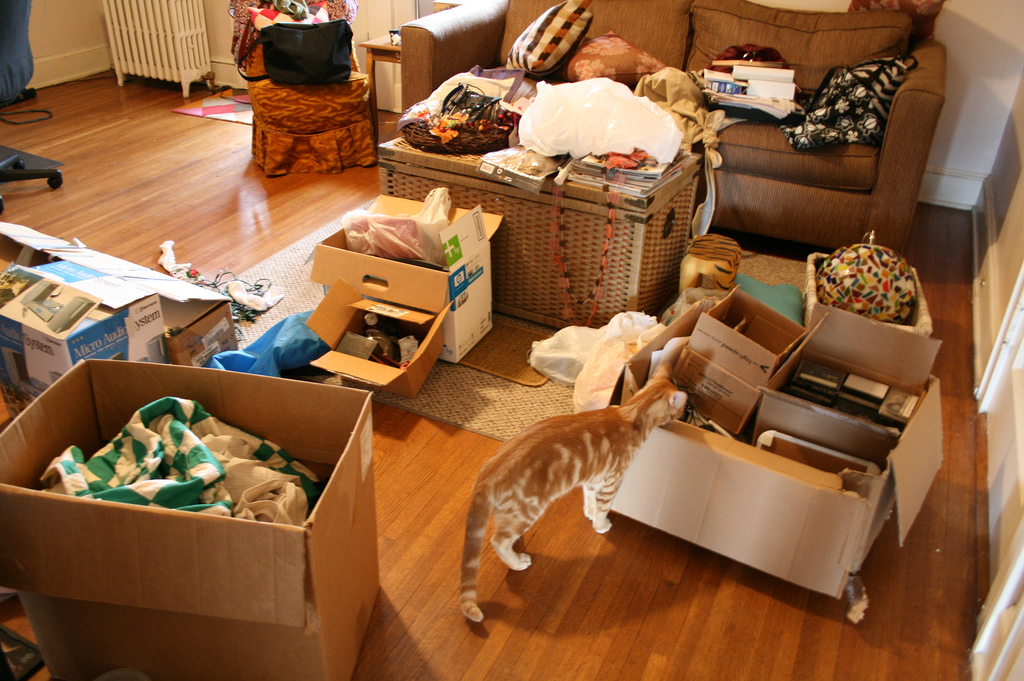 Get Organized, Home Moving